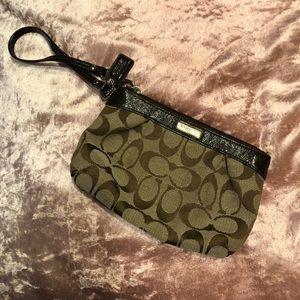 Coach brown bag